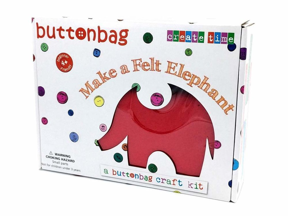 First Sewing kit - Any child will feel delighted once they complete this little elephant. Sewing and making is great for dexterity and focus, AND everyone needs to know how to attach a button properly. Perfect for those days between Christmas and New Year where no one really fancies going out.£14.99Gen NeuUse code SONSHINE10 for a 10% discount across the site