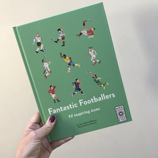 Fantastic Footballers - For any football fanatics out there. Lovely illustrations of some trailblazing footballers (and yes, there are the female heroes in there too).£9.99Telling Tales