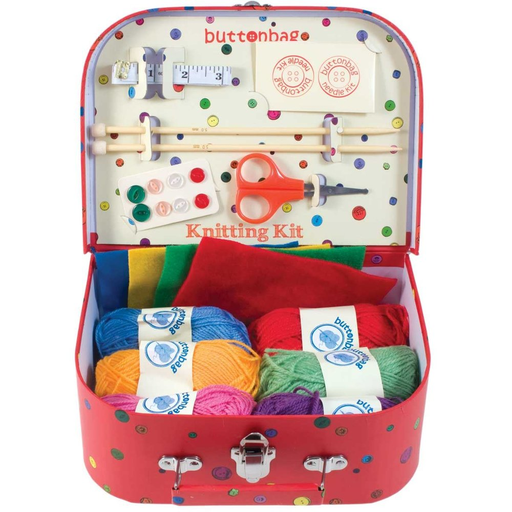Knitting Kit - This comprehensive kit means kids can start knitting useful things like hats and fingerless gloves as well as cute cuddly toys.£19.99Mulberry Bush