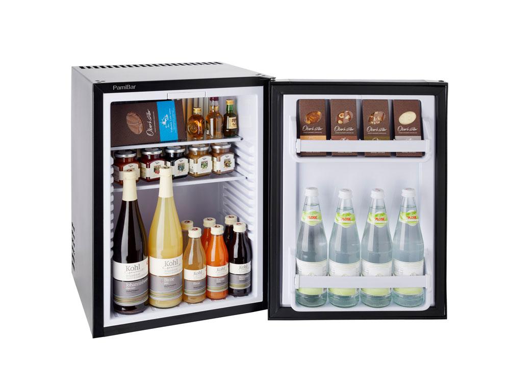 Mini Kühlschrank Geräuschlos : Pamibar s minibar minikühlschrank für hotels geräuschlos