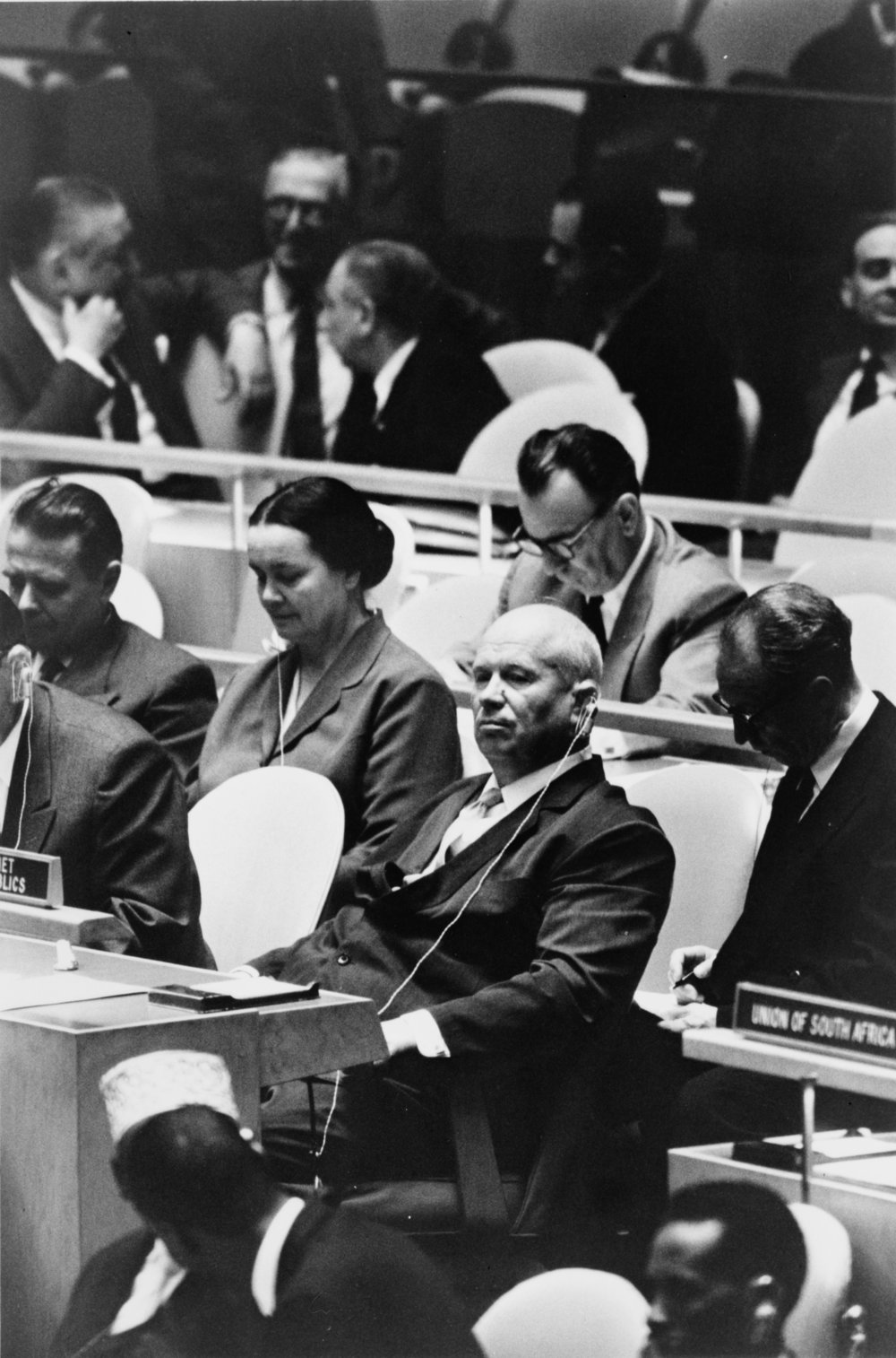 Khrushchev at the United nations. September 1960