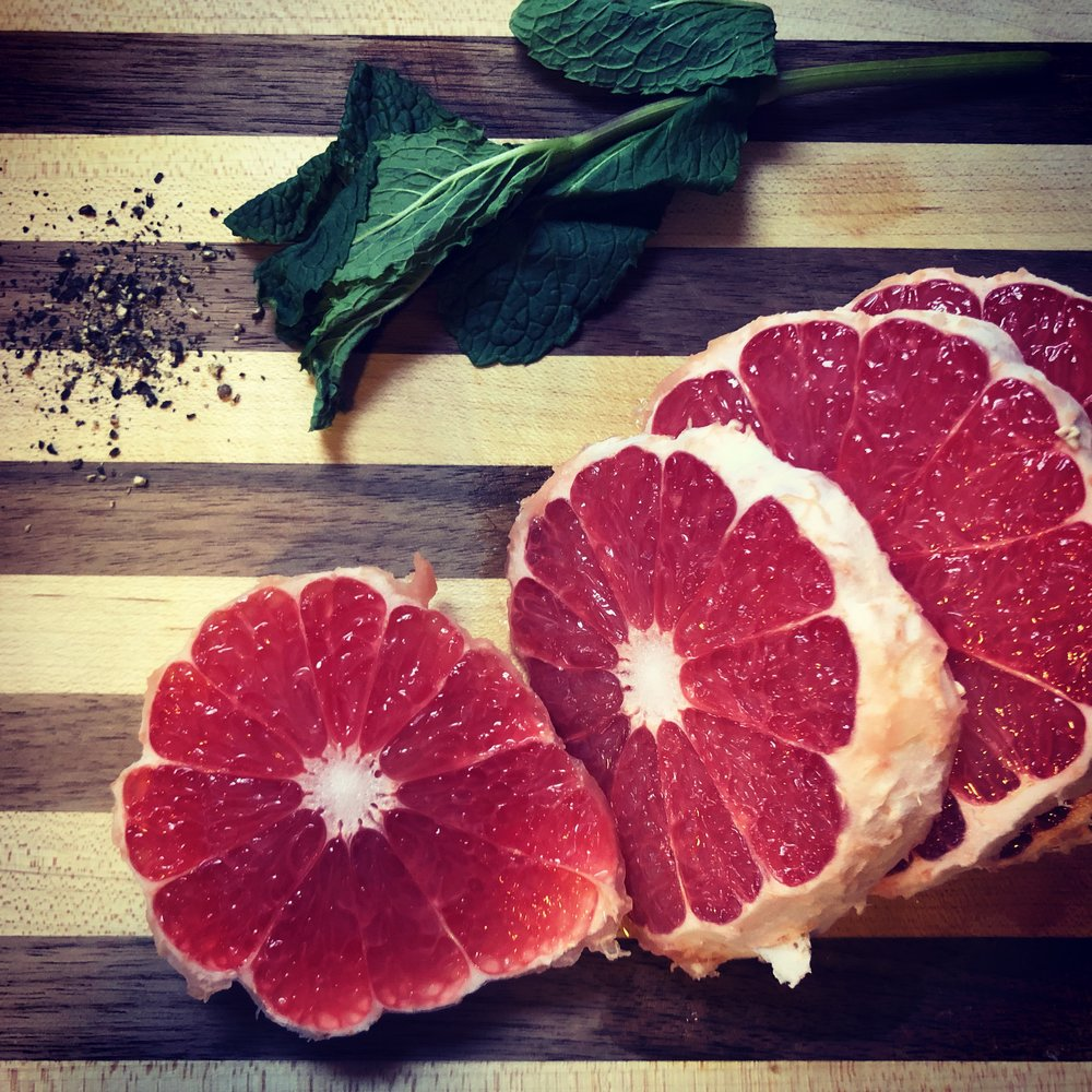 Eat: Citrus - Nature provides. As we're smack in the middle of cold, bleak winter, citrus season is in full swing.