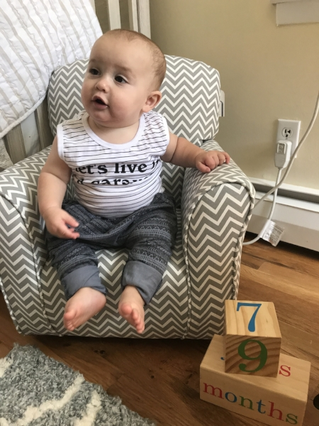 Cutie in his   Children of the Tribe   onesie and pants!