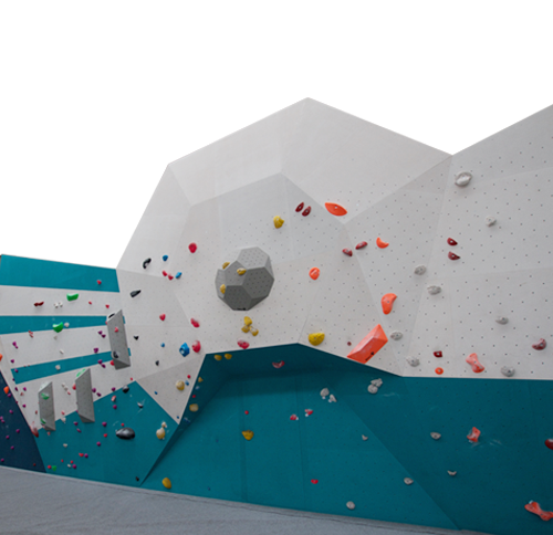 Sun Ray  The sunray wall includes a large section of slightly angled wall ranging from 10° overhung to 5° slab. You'll find some nice techy climbs with dynamic problems peppered in to keep you on your toes.