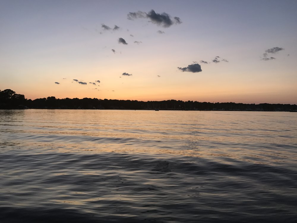 Dinghy Ride Sunset