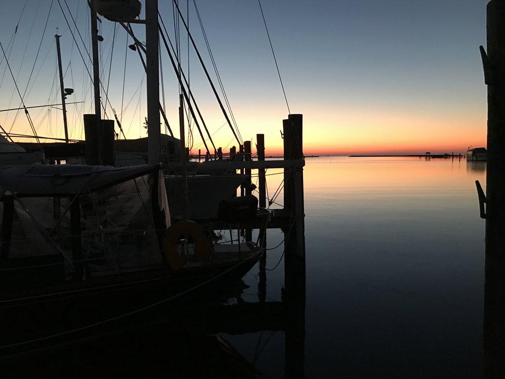 Sunrise over Herring Bay
