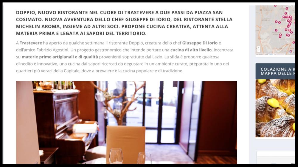 TAVOLE ROMANE - Blog