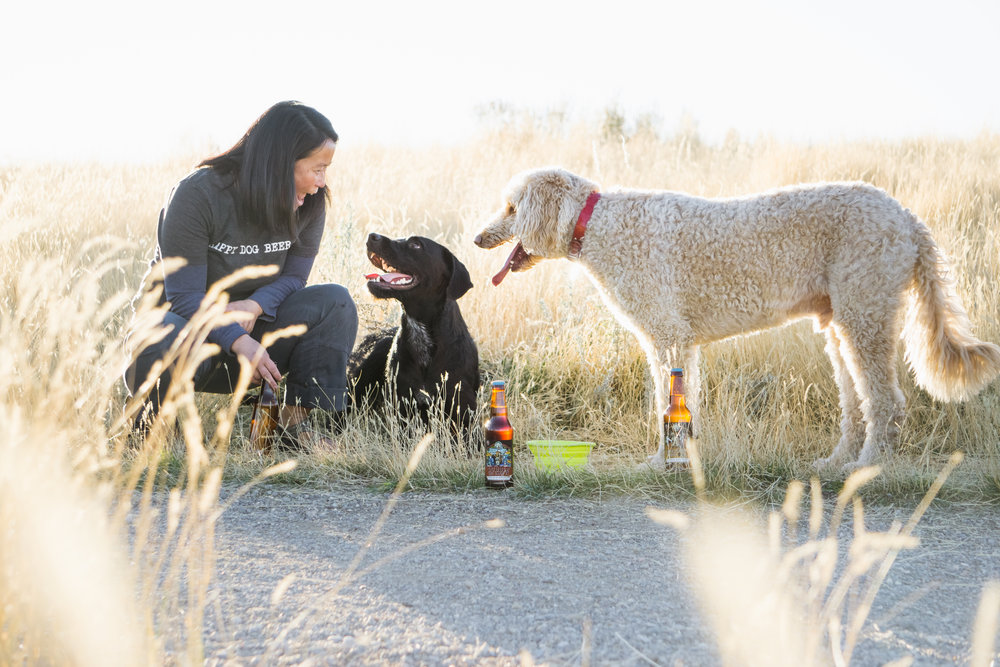 Happy Dog Beer located in Bozeman, Montana, provides healthy drinks for your dog's active lifestyle