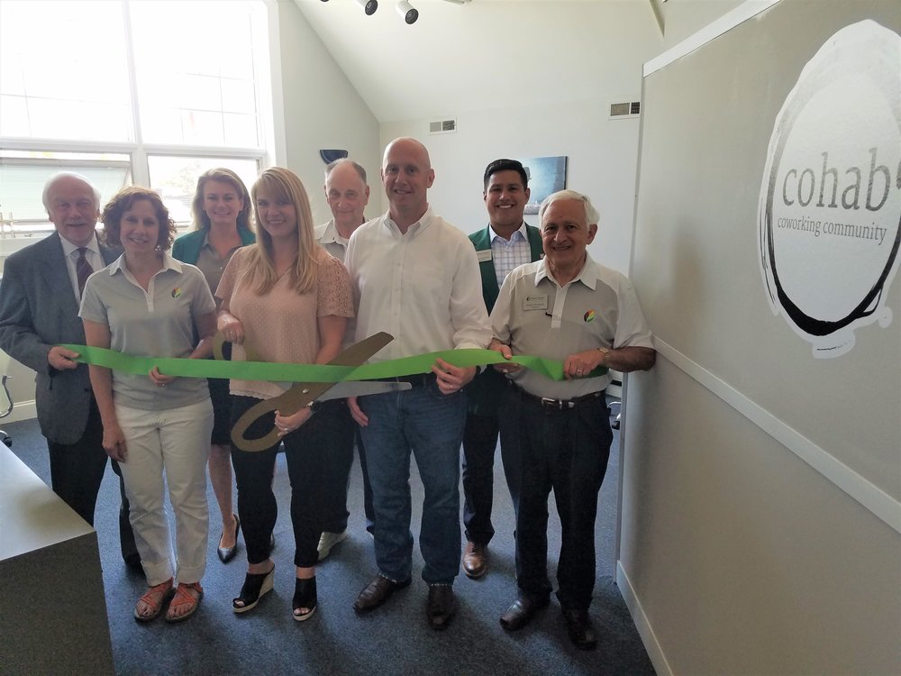 Ribbon Cutting with Elmhurst's Chamber of Commerce.