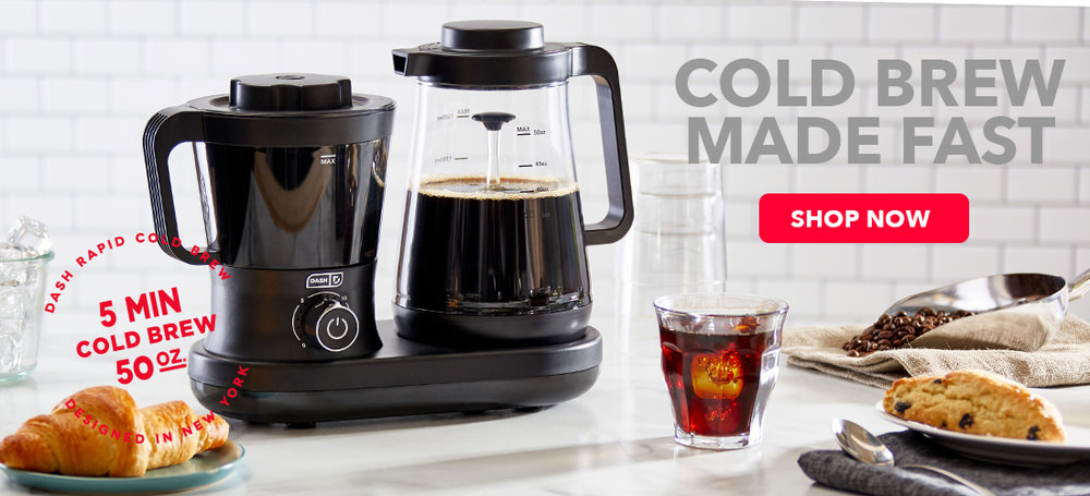 A cold brew maker that speeds things up!