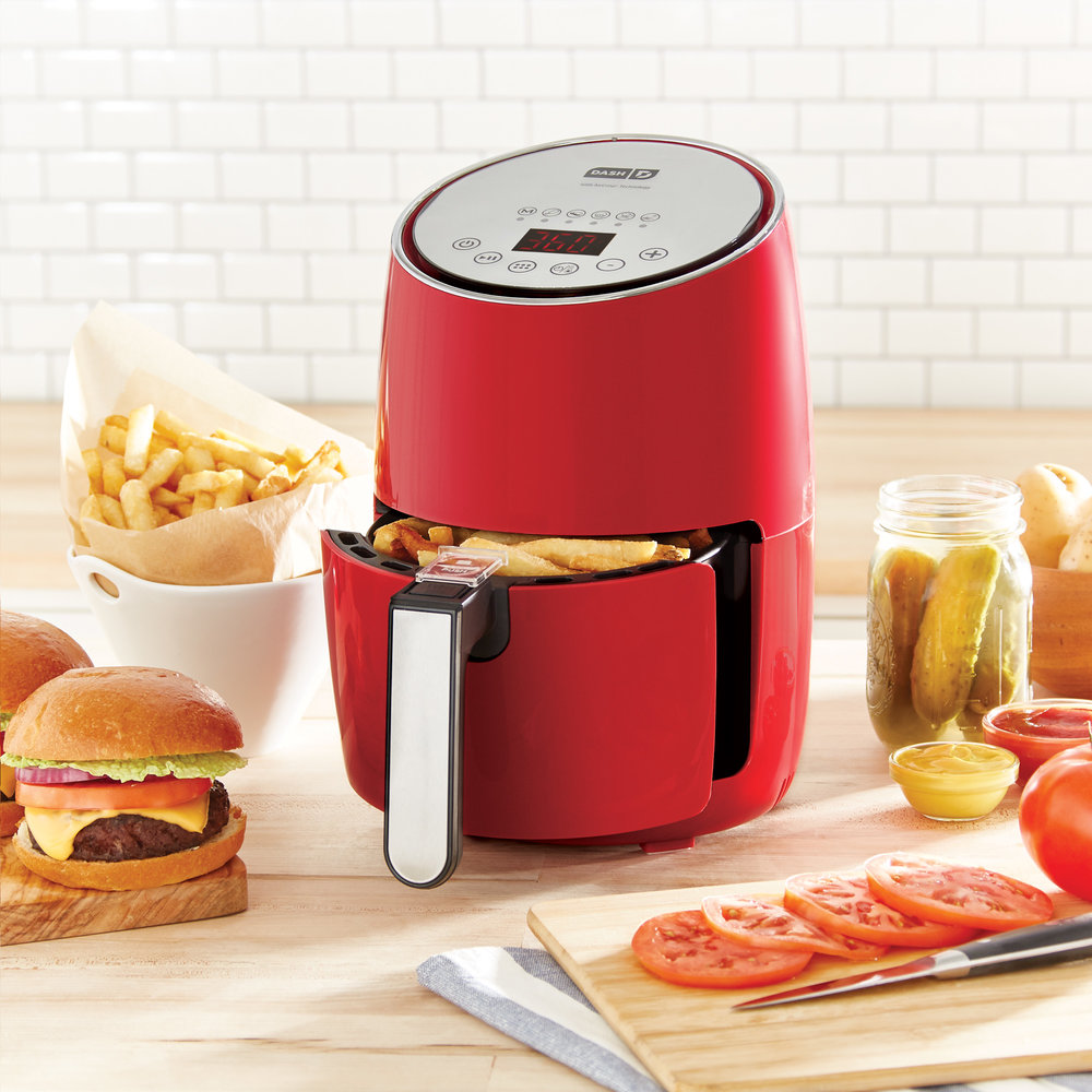 Your friend is sensible in the kitchen and could use an appliance that not only helps keep things healthy, but is also fun and easy to use. The    Dash Digital Compact Air Fryer    helps cut fat up to 80% and is versatile enough for everything from wings to cakes.