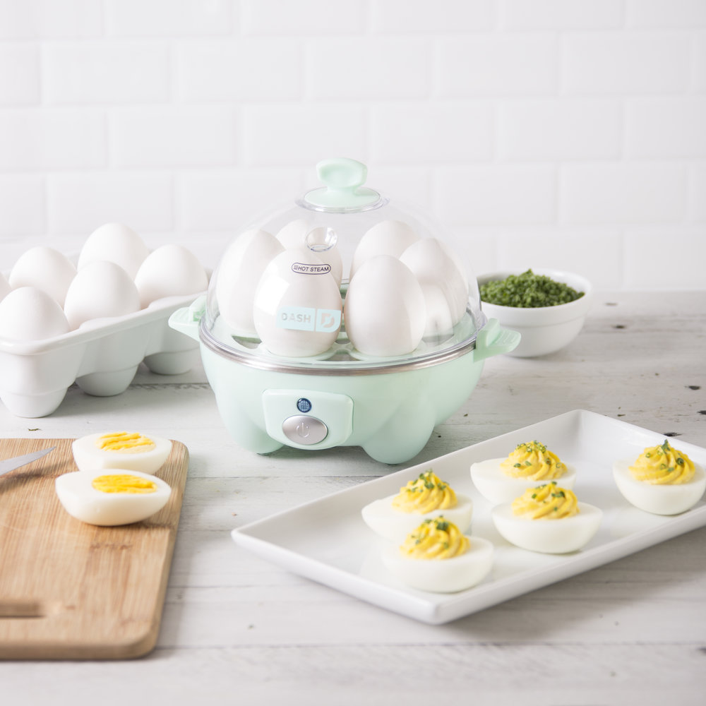 Dash Rapid Egg Cooker - Hard boiled eggs in minutes? Sign us up! In fact, sign everybody up!Get it here.