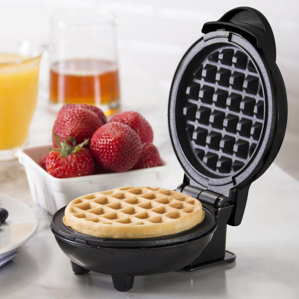 Dash Mini Maker Waffle - Perfectly cute. Perfectly useful. And perfect for gifting.Get it here.
