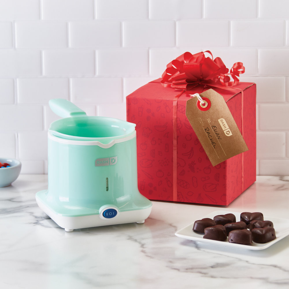 Dash Candy Maker - A great present for anyone with a sweet tooth. Included Dash Bow & Go packaging so you can gift easily!Get it here.