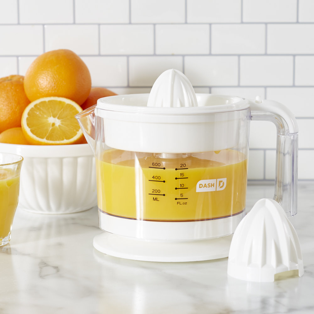 Dash Dual Citrus Juicer - Use it to make fresh squeezed orange juice in the morning! Or have the person you gave it to make you a citrus-y beverage!Get it here.
