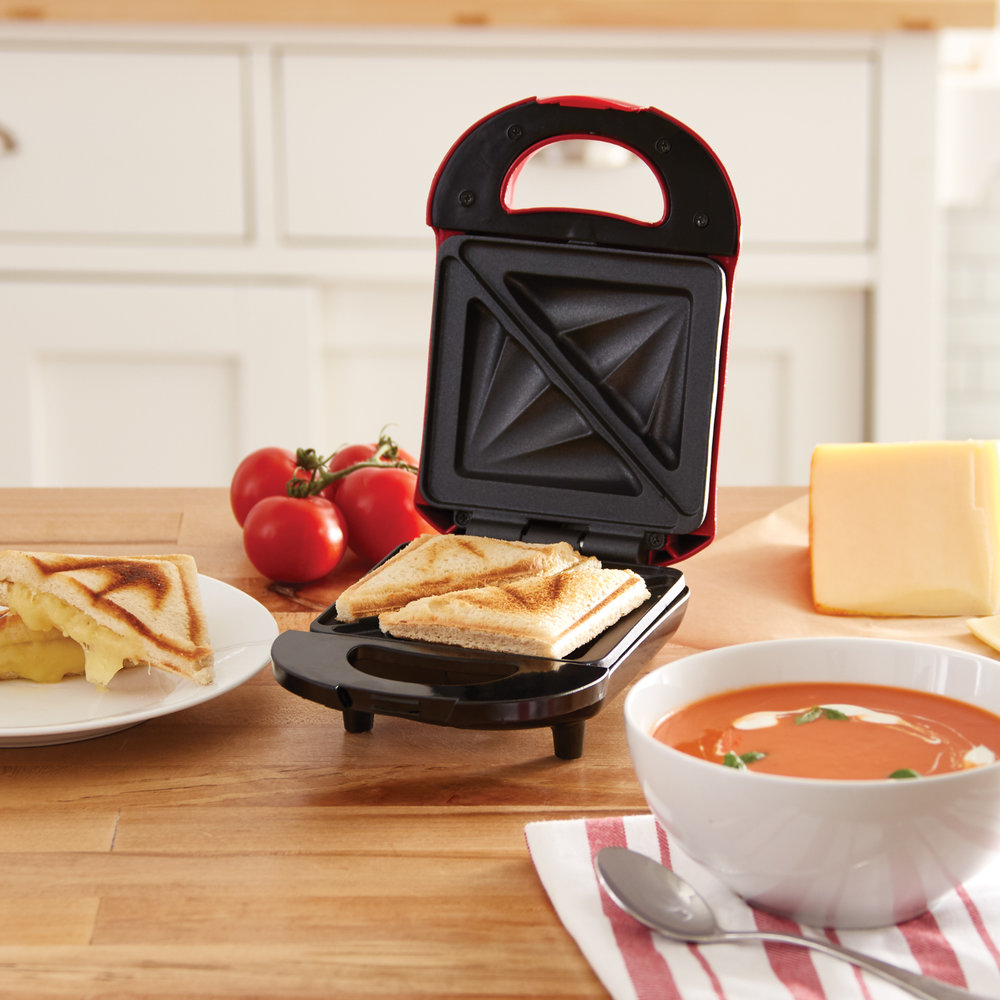 Dash Pocket Sandwich Maker - One of our favorite kitchen gadgets. Great for mini calzones, paninis, empanadas and more!Get it here.