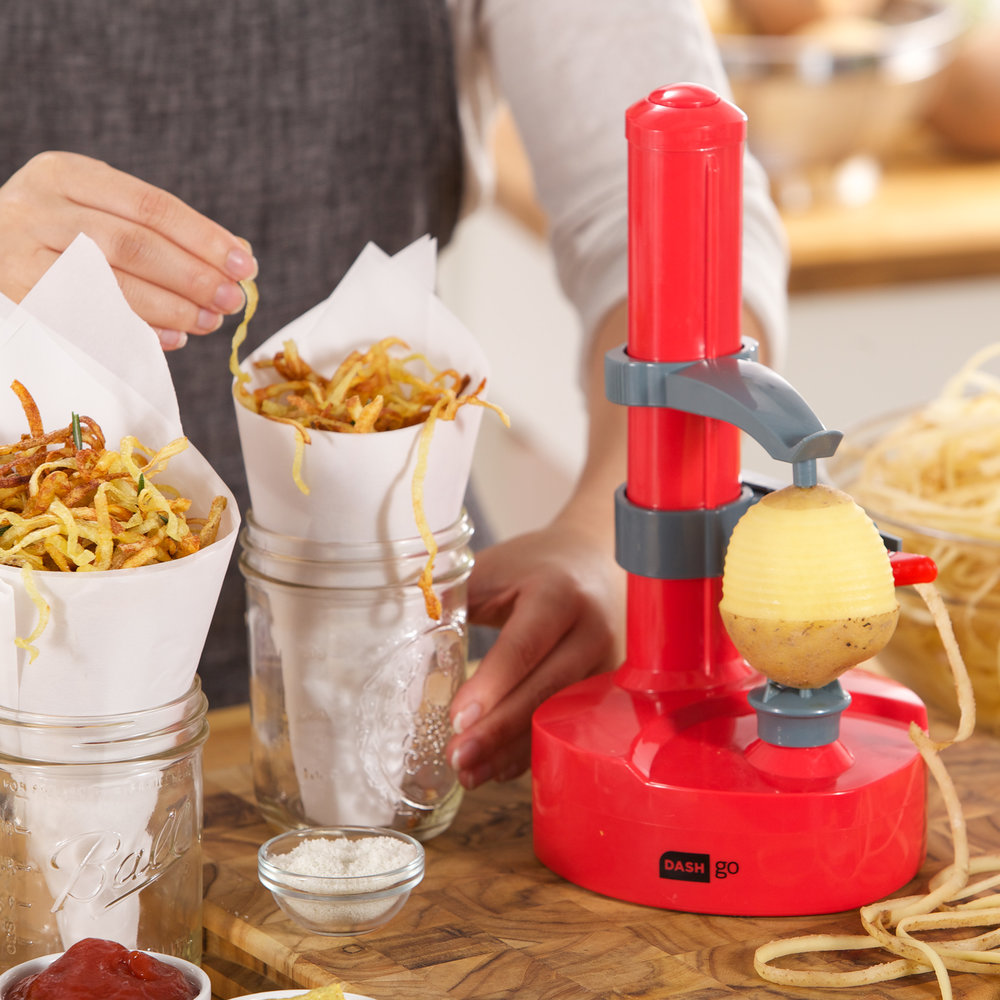 Dash Rapid Peeler - Give this to someone before they start peeling potatoes for twenty people and be a holiday hero!Get it here.