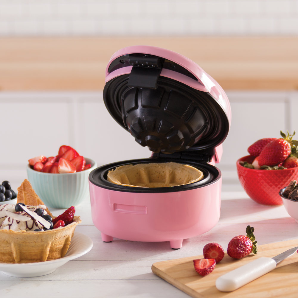 Dash Waffle Bowl Maker - Everyone loves an ice cream sundae and the Waffle Bowl Maker is perfect for creating your own special treats. Even make a taco bowl!Get it here.