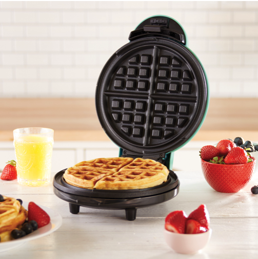 """Dash Express Waffle Maker - The gift that says """"I'm coming over next weekend for brunch!"""" Works for everyone.Get it here."""