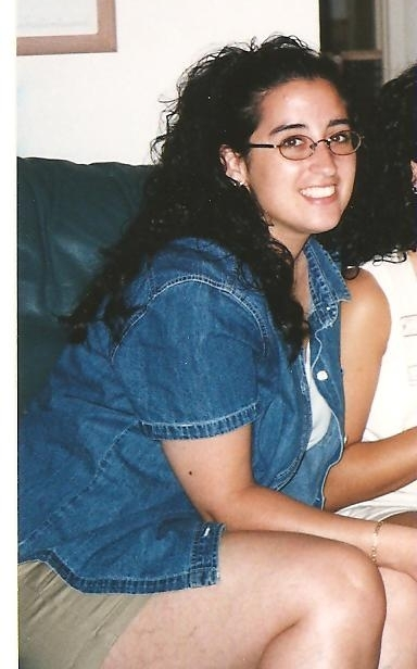 Me in my early 20s...the   unhealthiest time of my life