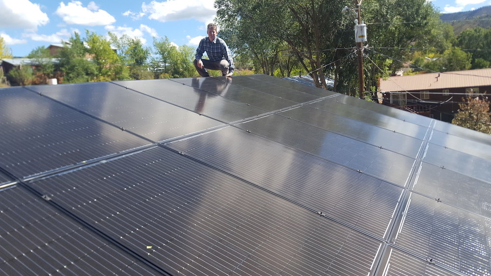 6.0 kW Grid-Tied System in Durango, CO