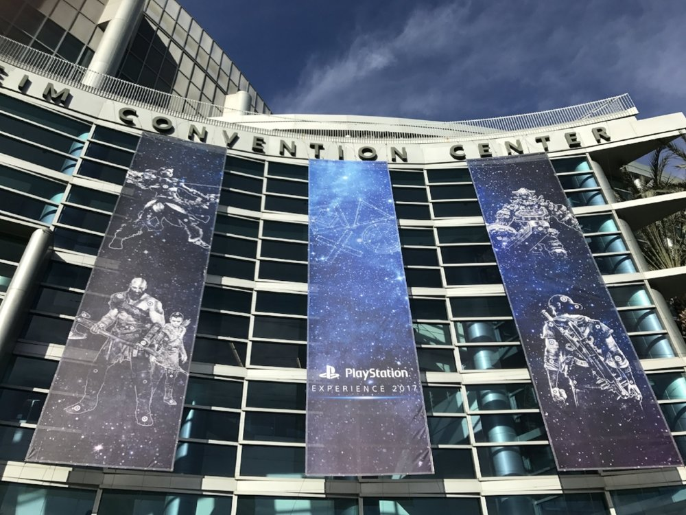 Anaheim convention centre for Playstation PSX