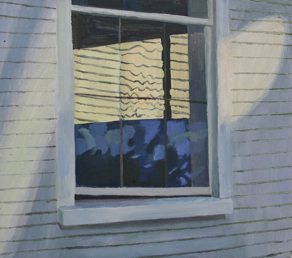 Window light, Oil on panel, 10 x 12 in, 2016
