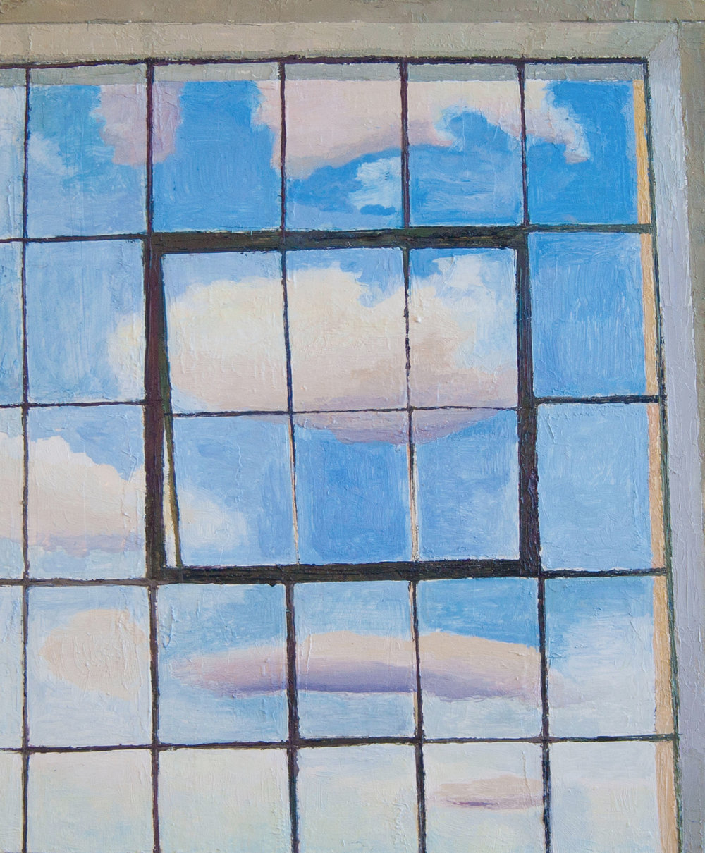 Caught Cloud, Oil on panel, 11x 9 inches, 2014-15