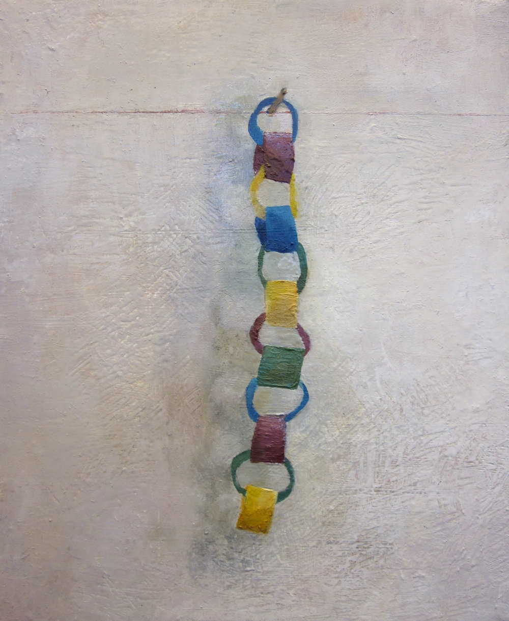 Chain, Oil on Canvas, 12 x 8 inches, 2011