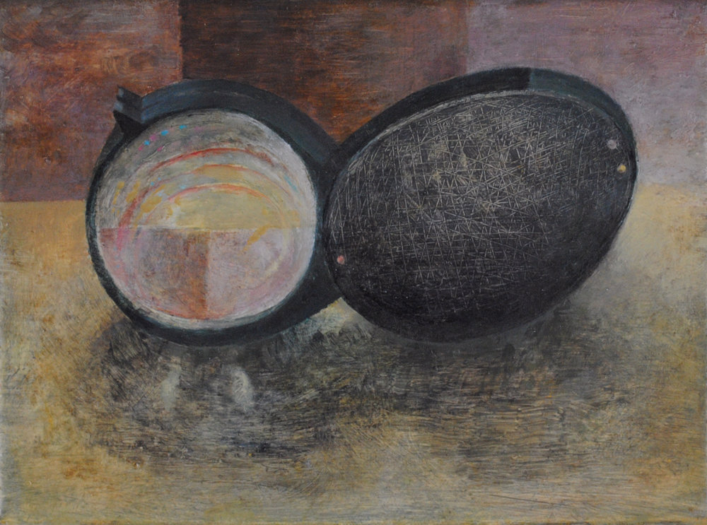 Magnifying Glass, Oil on Canvas, 9 x 12 inches, 2011