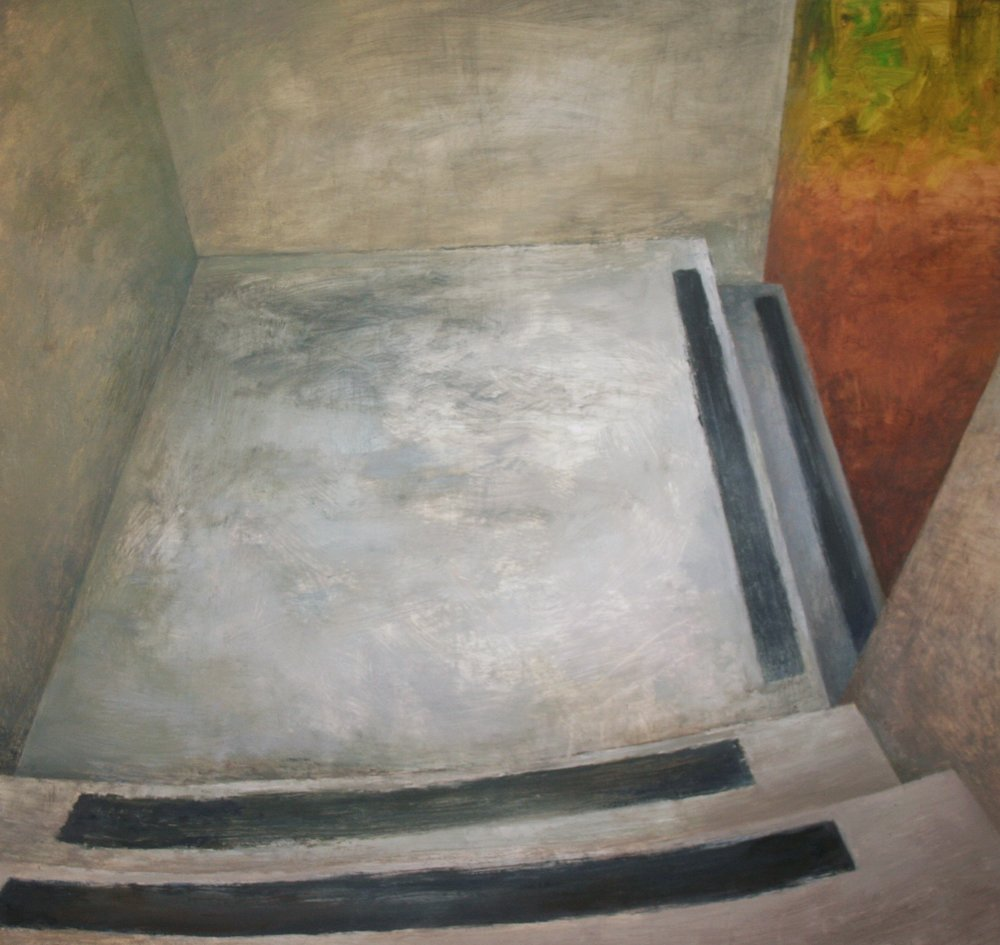 Through, Oil on Canvas, 36 x 38 inches, 2013