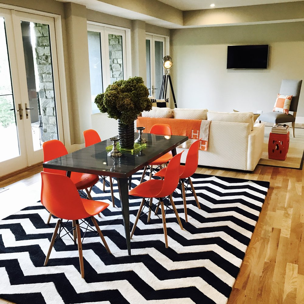 Interior Design : 45 Misty Way : Dining Room