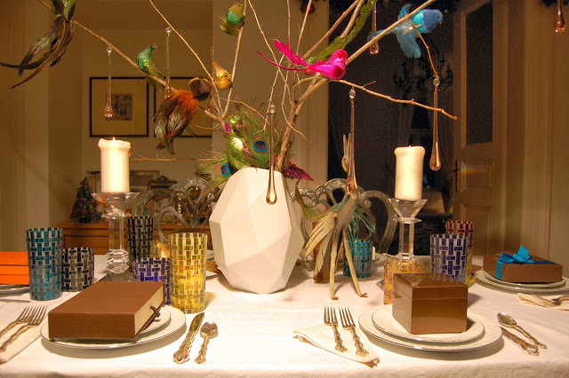 Interior Design : Holiday Table Scape