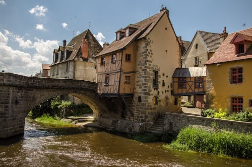 Aubusson on the River Creuse
