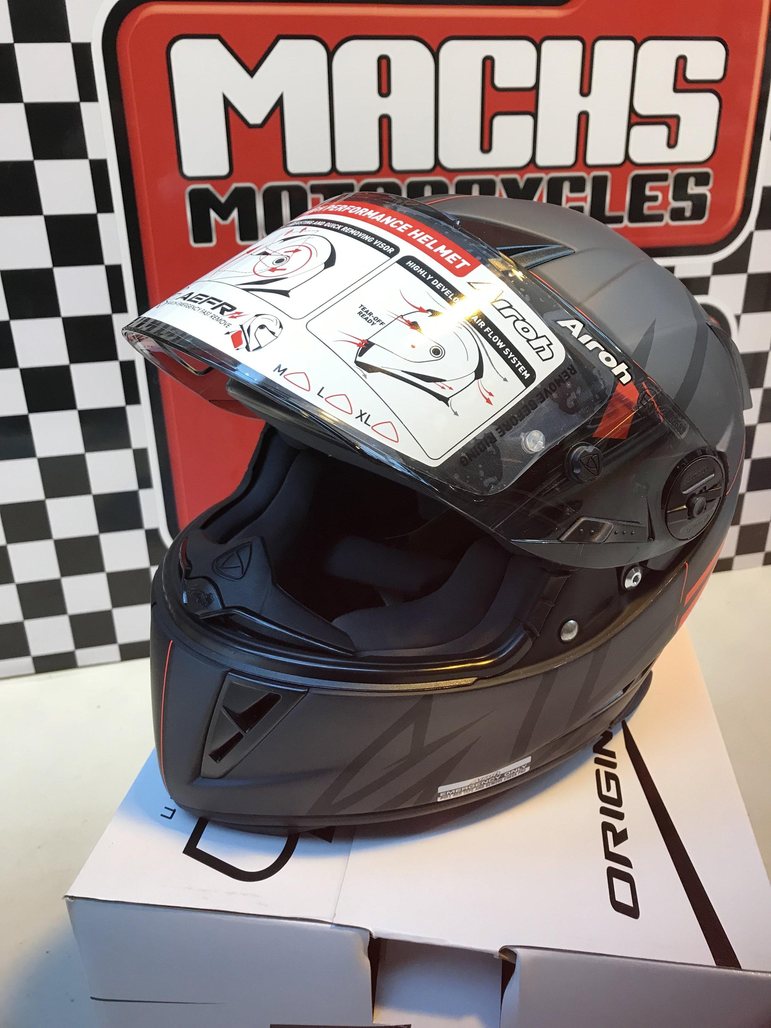 97864554 Airoh GP500 Sectors Matt Orange — 2 MACHS MOTORCYCLES