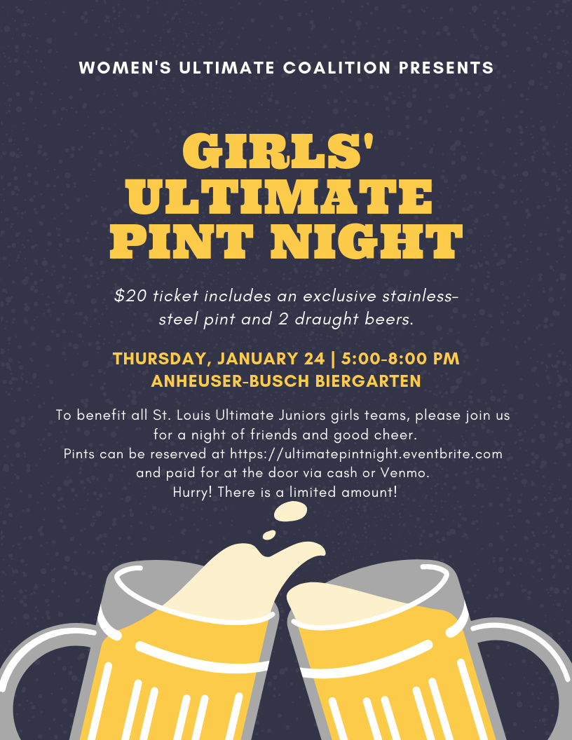 Girls' Ultimate Pint Night