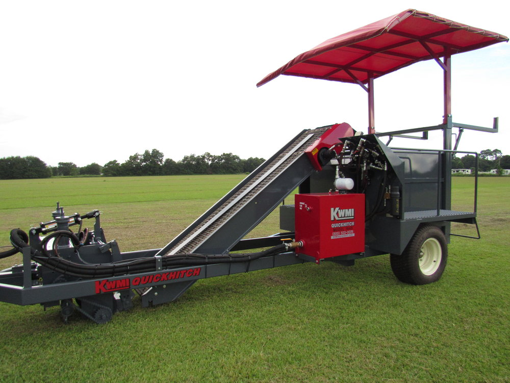 QuickHitch Harvester
