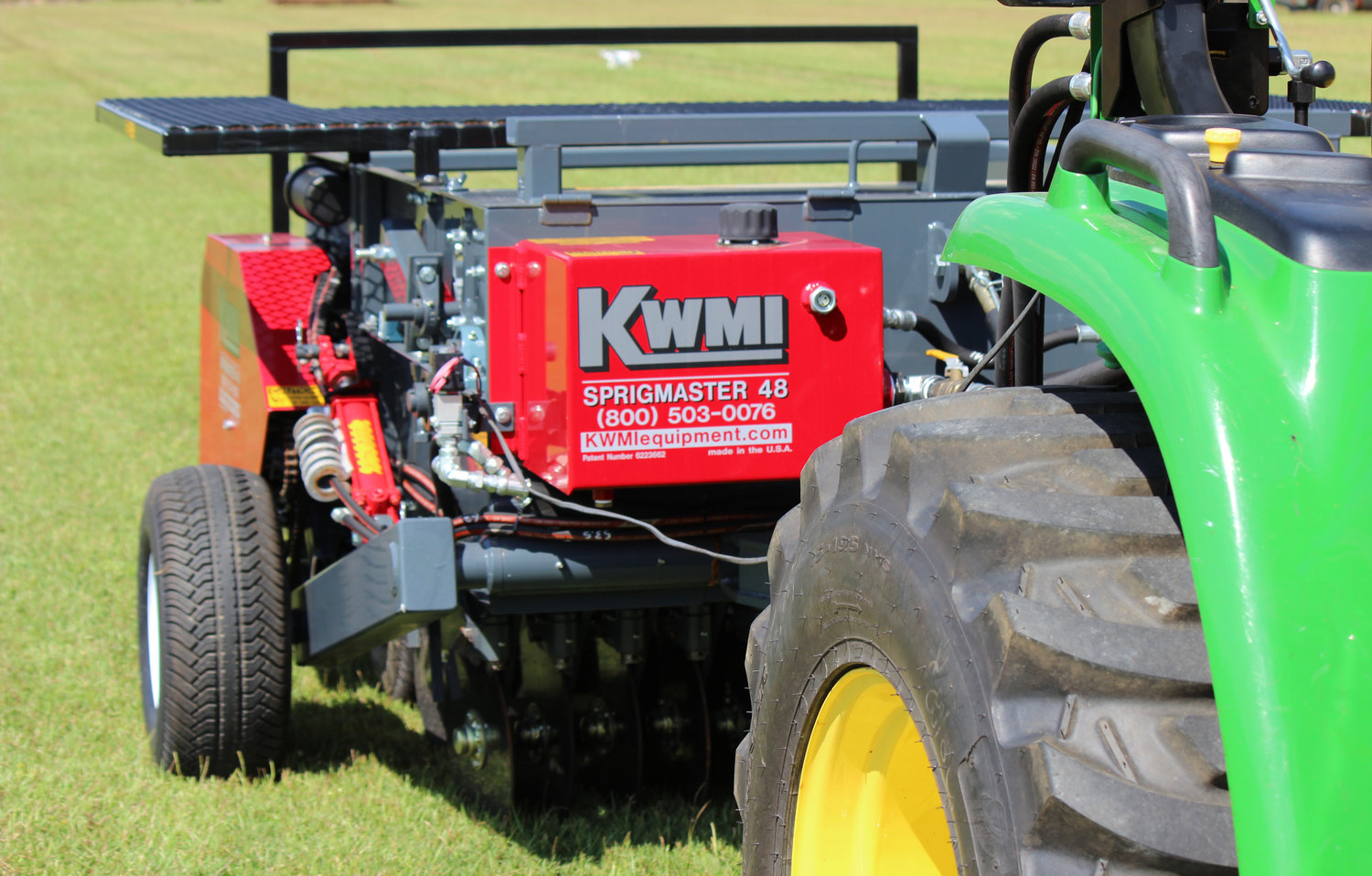 The Sprigmaster II- What You Need to Know — KWMI Turf and