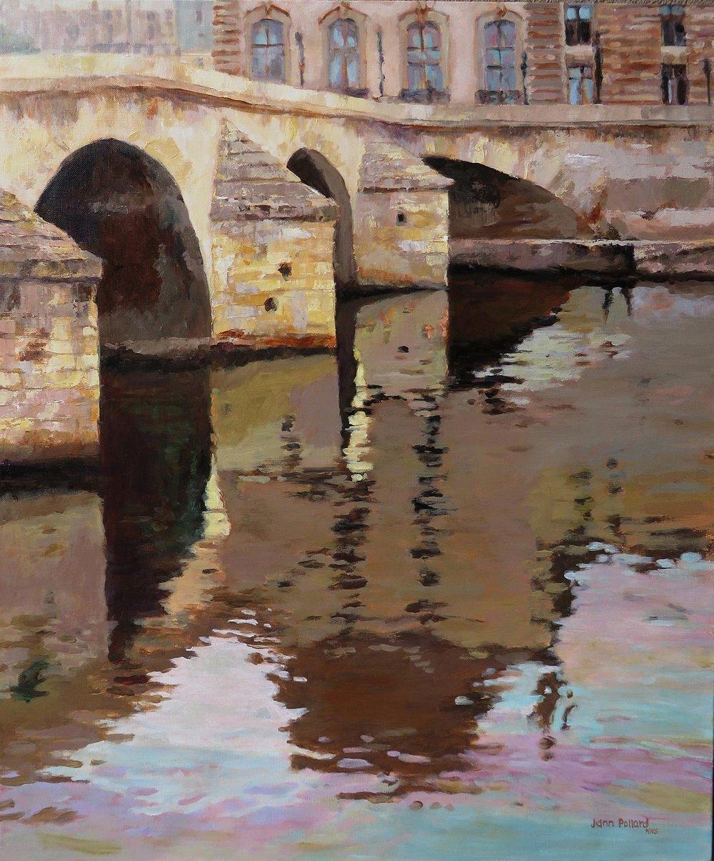 Pont Royal Reflections