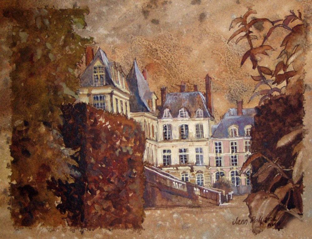 Chateau Fountainbleau, Paris