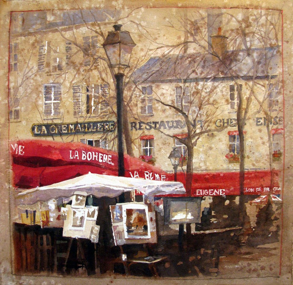 Easels of Montmartre