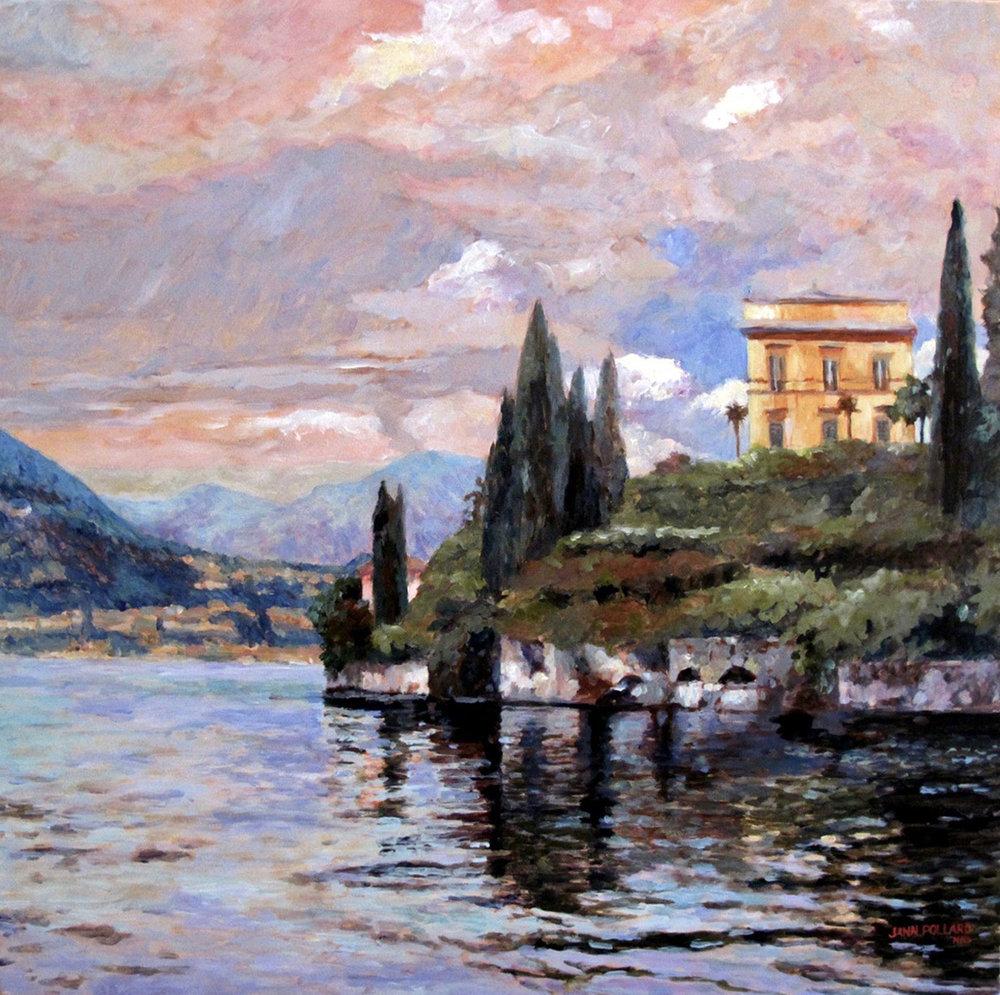Reflections on Lake Como
