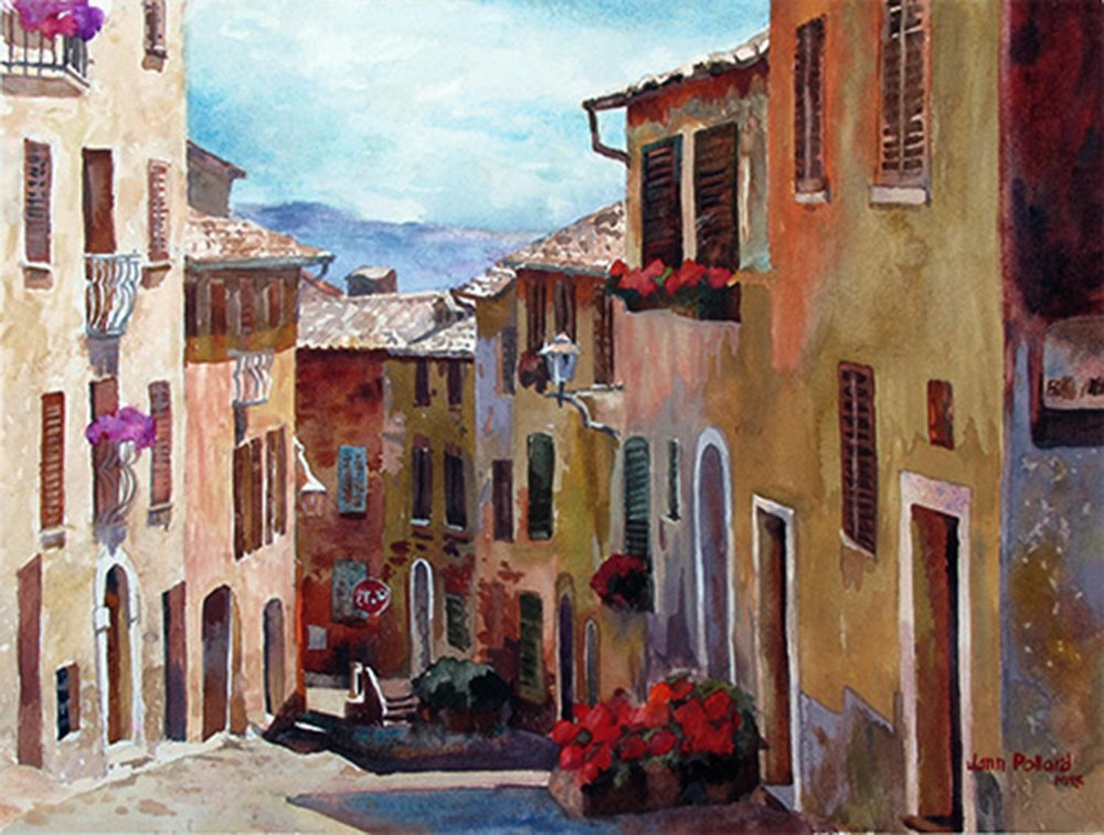 Cortona Colors, Tuscany