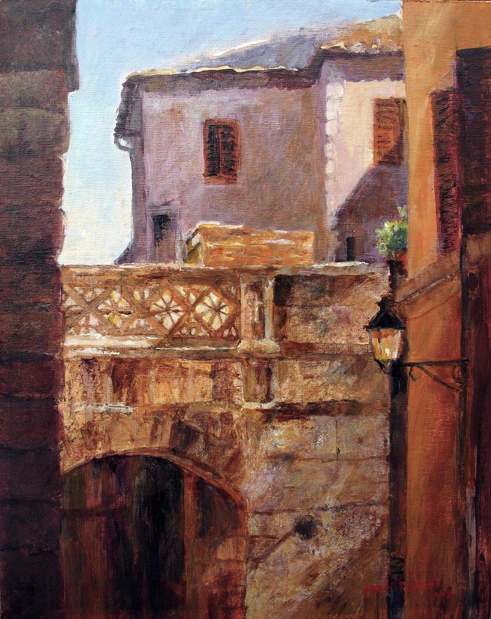 Montepulciano Archway