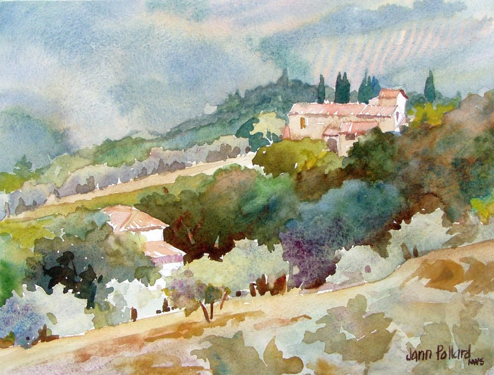 Tuscan Hillside Vista