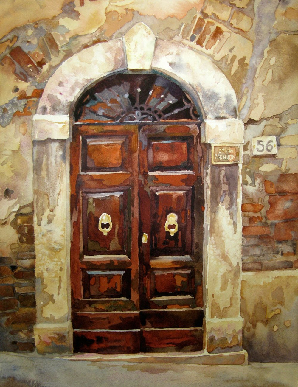 Italian Tuscan Door