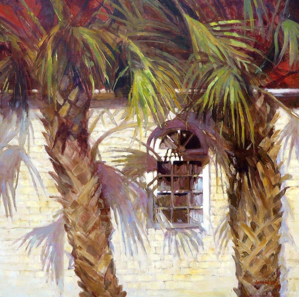 Palmetto Palm Shadows