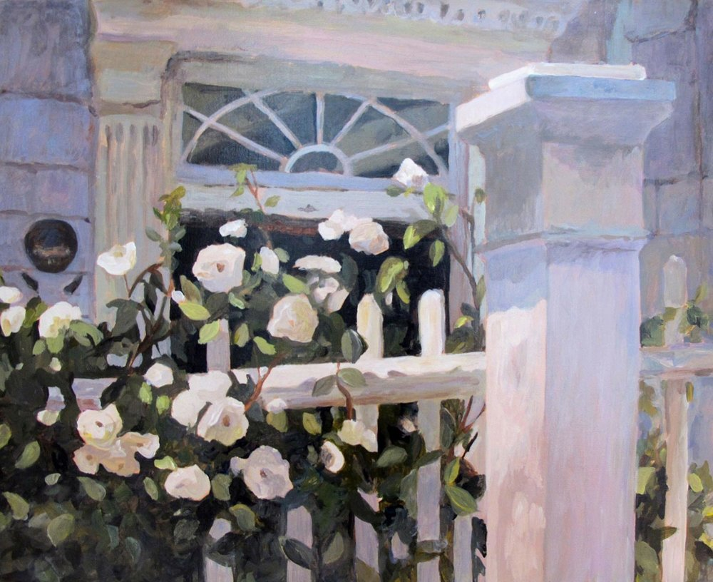 Charleston White Roses