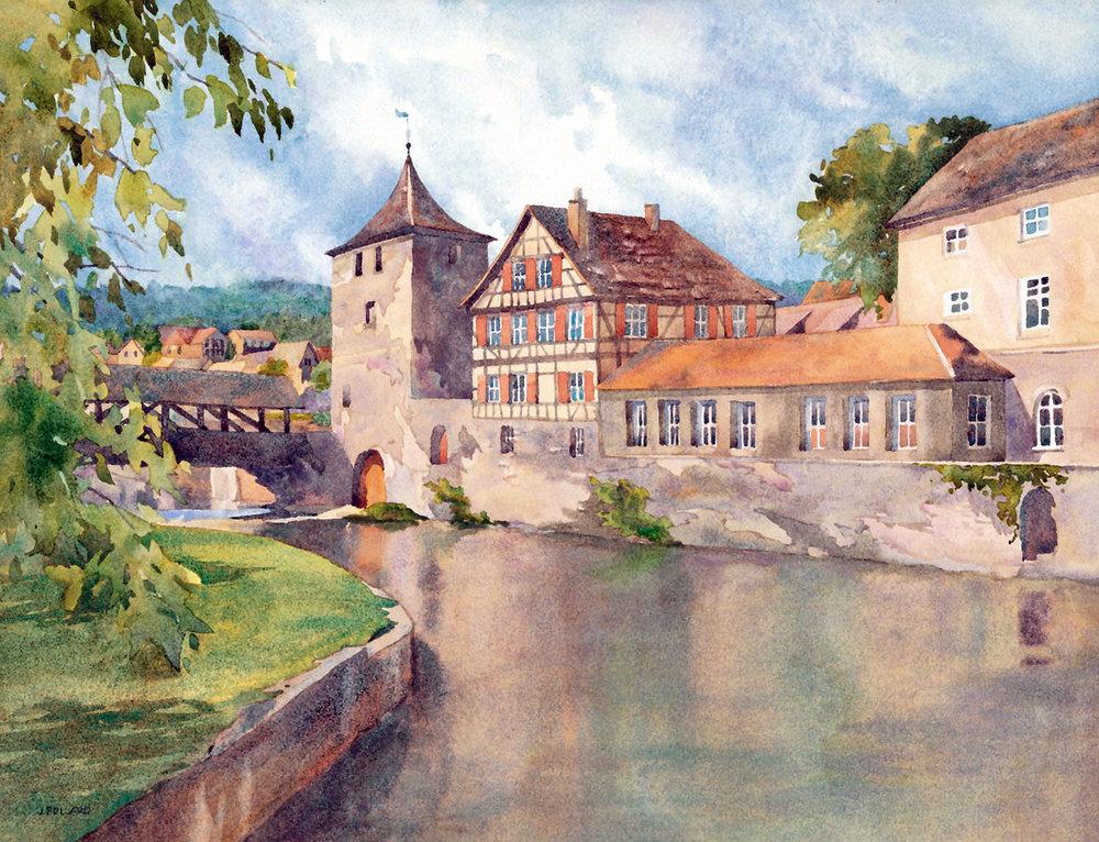 Schwabish Hall, Baden-Wuttemberg