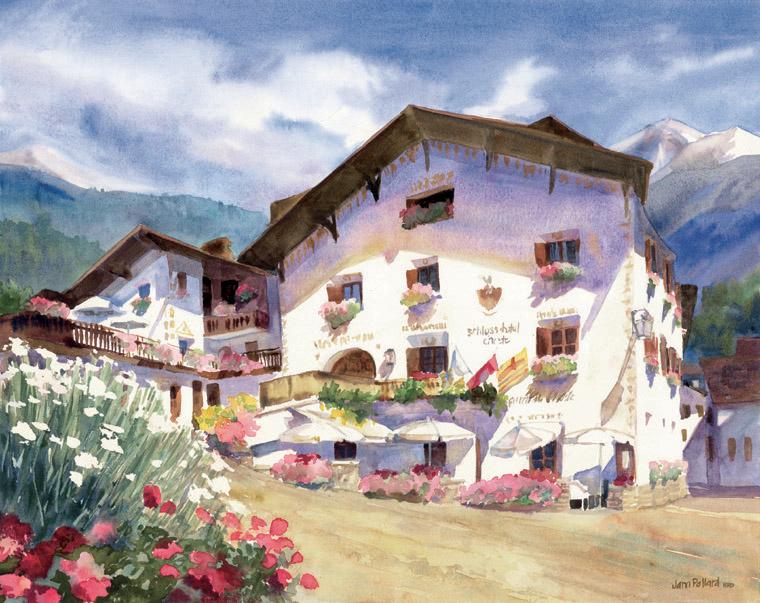 Schlosshotel Chasté, Graubunden, Switzerland